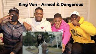 """KING VON"" ARMED & DANGEROUS REACTION VIDEO"