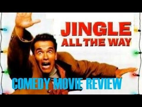JINGLE ALL THE WAY ( 1996 Arnold Schwarzenegger )  Comedy Movie Review