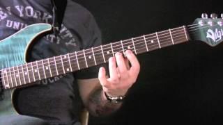 Vivaldi Four Seasons Winter Guitar Lesson Part 1 - Allegro Non Molto