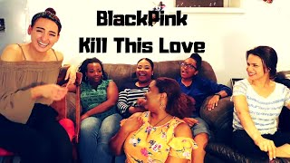 Gambar cover Non-Kpop Fans React To BlackPink - Kill This Love M/V