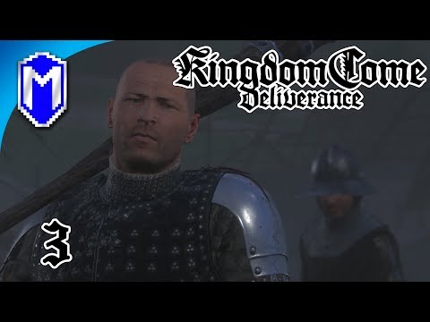 KCD - Getting Out Of Talmberg - Lets Play Kingdom Come: Deliverance Walkthrough Gameplay Ep 3