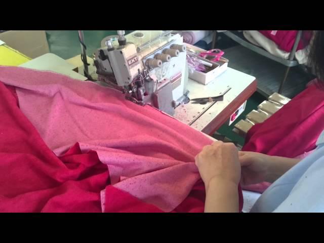 【ハナロロ】オニオンパイルカバー 縫製中