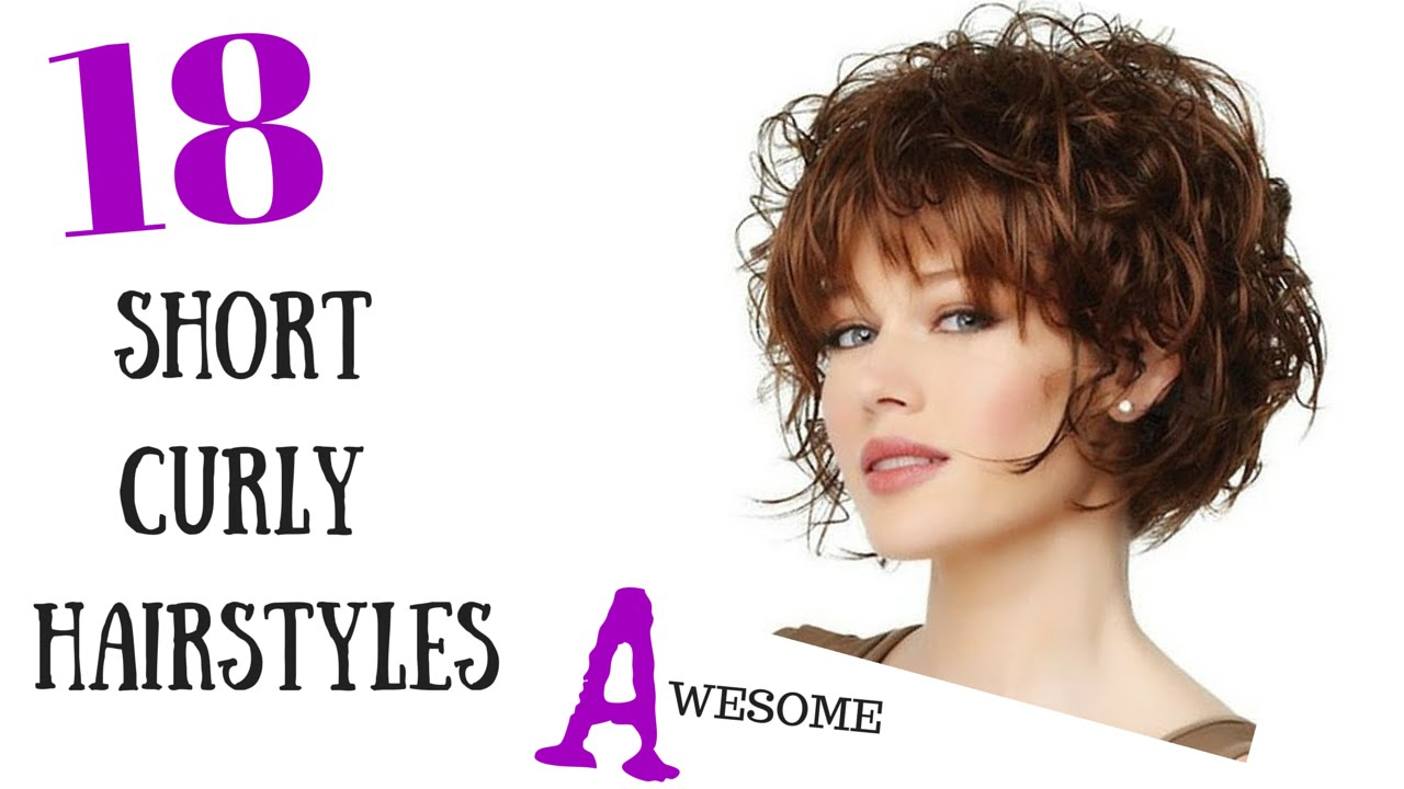 18 Awesome Short Curly Hair Styles 2015 - YouTube