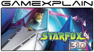 Star Fox 64 3D Review (Nintendo 3DS) [HD]