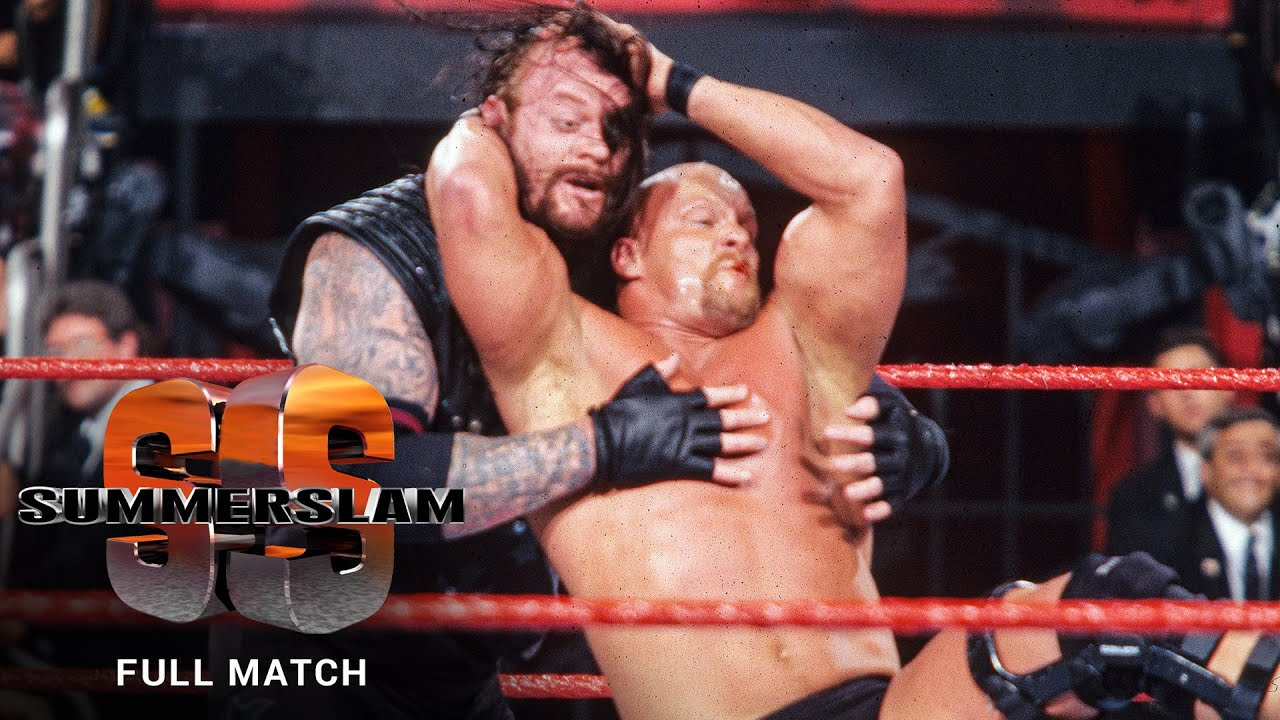 "FULL MATCH: ""Stone Cold"" Steve Austin vs. Undertaker - WWE Title Match: SummerSlam 1998"