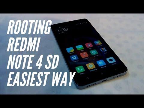 Root Xiaomi Redmi Note 4.