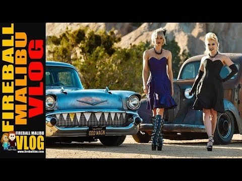 SEX ON WHEELS is ODDSQUAD RAT ROD CAR CLUB! - FIREBALL MALIBU VLOG 628 thumbnail