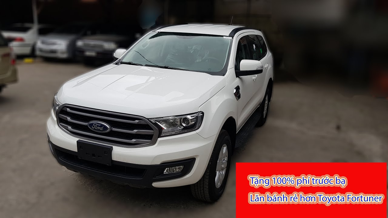✅ Giá lăn bánh Ford Everest 2020 rẻ hơn cả Fortuner | ☎0903699879