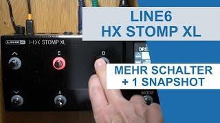 [Test] Line6 Helix HX Stomp XL - 5 Schalter und ein Snapshot mehr
