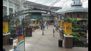 Exploring the Gaylord Opryland Hotel in Nashville Tennessee 2018