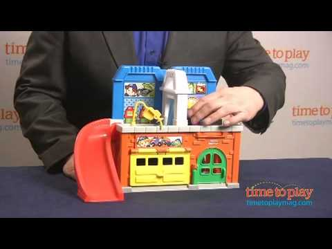 Little People Stow N Tow Garage From Fisher-Price