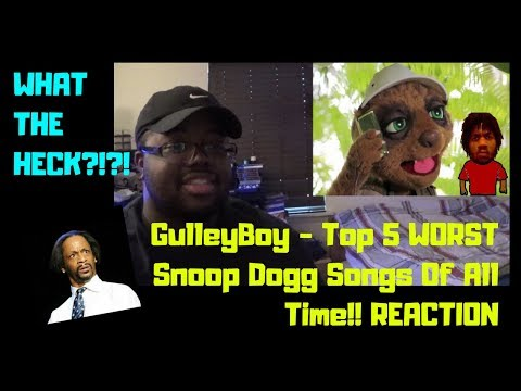 GulleyBoy -Top 5 WORST Snoop Dogg Songs Of All Time!! REACTION