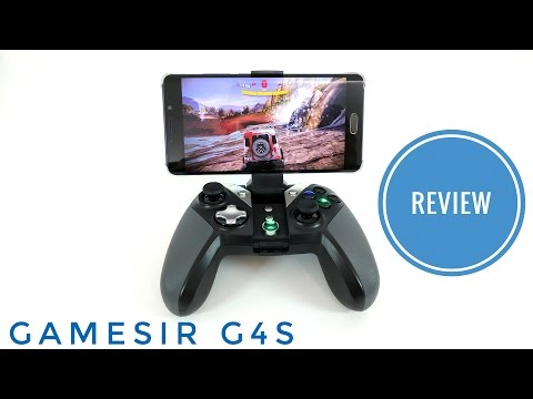 Gamesir G4S Bluetooth & 2.4G Wireless Gaming Controller For Android, Windows - REVIEW