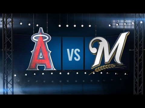 5/3/16: Carter, Lucroy push Brewers past Angels
