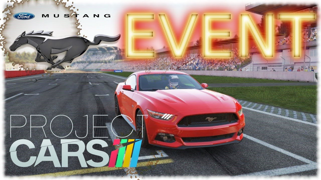 Lets Play Project Cars 13 Das Ford Mustang Event Youtube Events Car S Videos