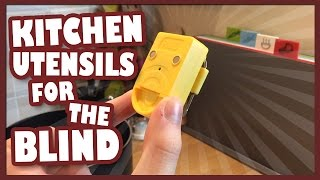 Kitchen Utensils For The Blind | Lucy Edwards