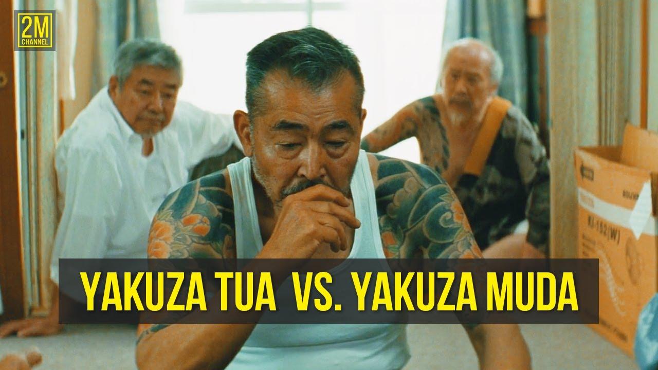 YAKUZA TUA Vs. YAKUZA MUDA - Alur Cerita Film Ryuzo And His 7 Henchmen | Film Gangster Jepang