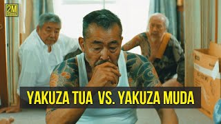 YAKUZA TUA Vs. YAKUZA MUDA - Alur Cerita Film Ryuzo And His 7 Henchmen | Film Gangster Jepang