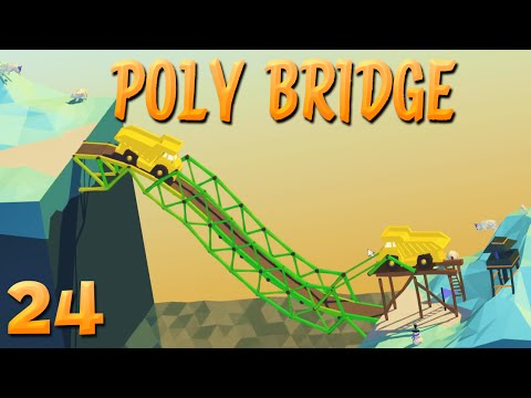 Unendlich Geld und 100m Brücke!   24   POLY BRIDGE