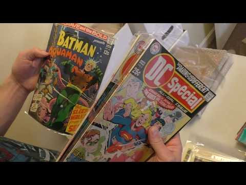 Unboxing a Silver Age DC Comics collection | Sell My Comic Books