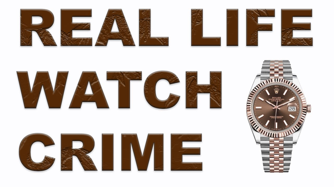 Viewer attacked in LONDON for his ROLEX WATCH - Real life Watch Crime