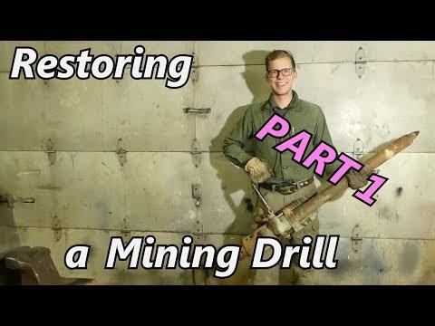 Restoring A Mining Drill - Denver Rock Drill Mfg Co - Part 1 | Iron Wolf Industrial