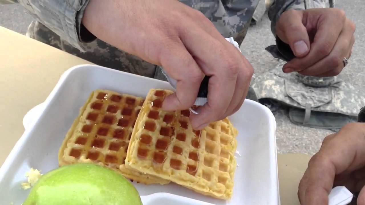 How To Eat A Waffle Youtube