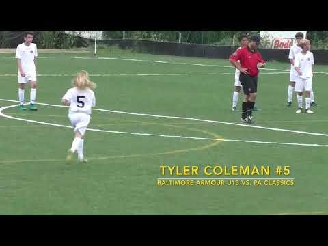 Tyler Coleman,#5 Baltimore Armour vs PA Classics