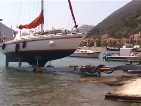 Υδραυλικό τρέιλερ βαρέων σκαφών ArgoLift 2