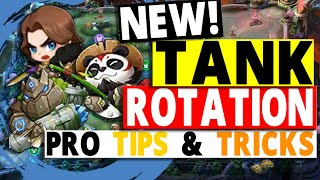 NEW Tank Rotation 2021 | How Does Tanks Rotate in New Laning Meta? Pro Tips & Tricks