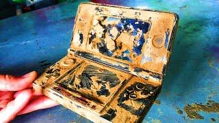 Restoration old Japanese NITENDO 3DS boy game destroyed | Restore and rebuild game boy