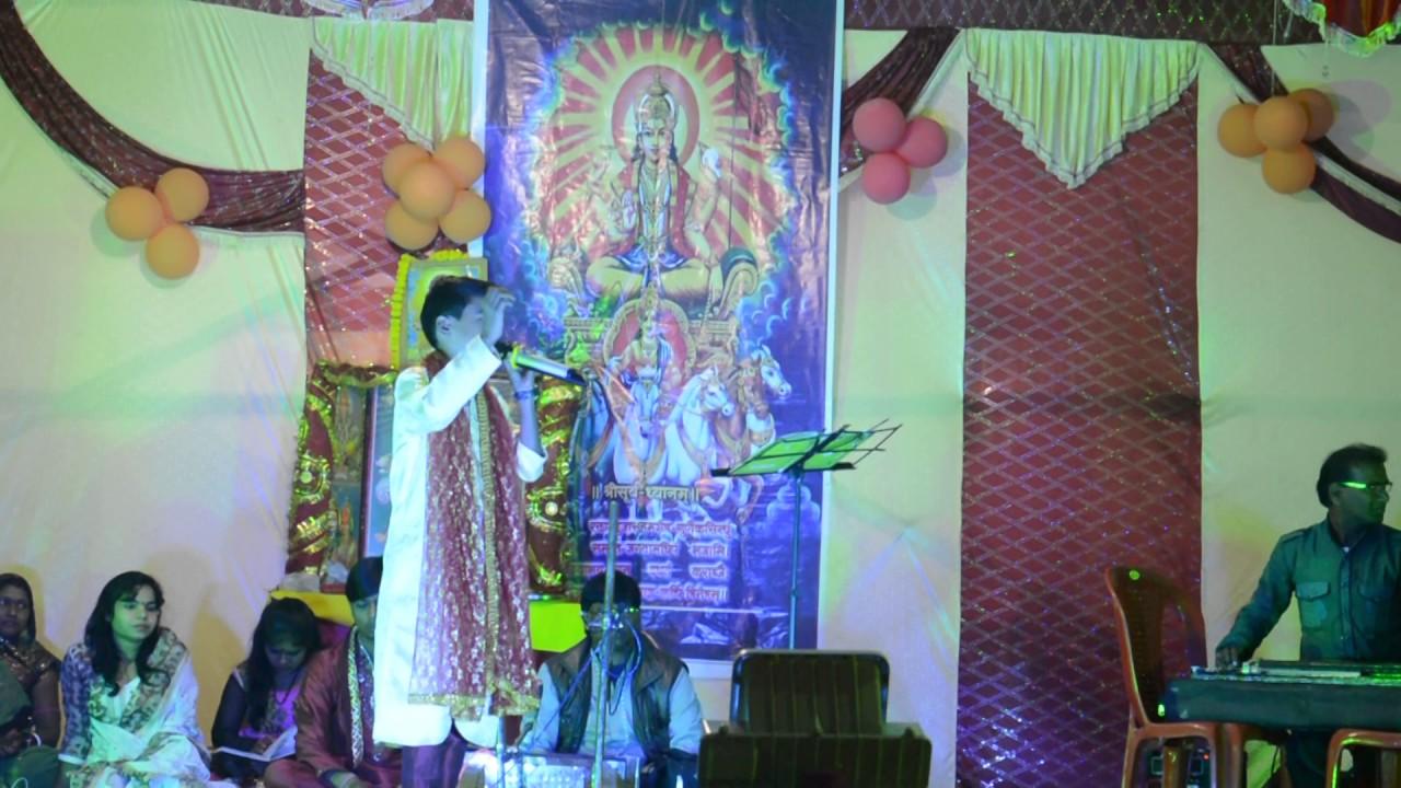 Singer Himanshu yadav-singing rakesh mishra song