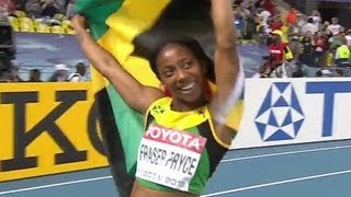 Fraser-Pryce claims 200m, Felix goes down - Universal Sports