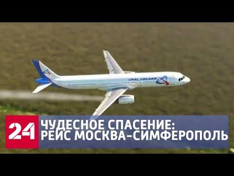 Войдет в историю: хронология событий аварийной посадки А321 - Россия 24