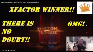 Dalton Harris sings A Song For You | Final | The X Factor UK 2018  | PW Reaction | WORLD CLASS