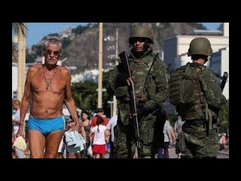 ARMY TAKES OVER RIO DE JANEIRO Are They Protecting The Rich Or Poor?