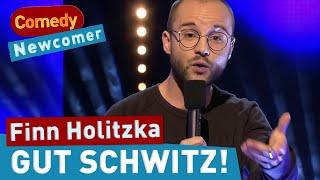 """Finn Holitzka: """"Du schwitzt!"""" – Biotop in der Achselhöhle"""