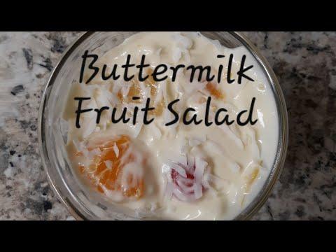 buttermilk fruit salad