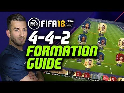 FIFA 18: 442 FORMATION GUIDE mit - 100k 500k 1kk 1,5kk SQUADS