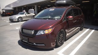 This Minivan has over 1000hp!! it's a monster
