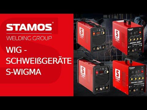 WIG-Schweißgeräte S-WIGMA von Stamos Germany - 200-250 Ampere Schweißleistung