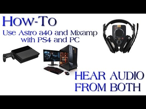 how to hook up astro a40 to ps4 Broken microphone ¶ first, check and see if your headset is on mute if it is, unmute it by clicking on the mute button and check to see if it is picking up sound then check if the headset is plugged into the headset adapter fully if it is and it's still not picking up sound, the problem is your microphone and it may need to be.