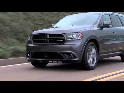 2014 Dodge Durango R/T Revealed on the Road