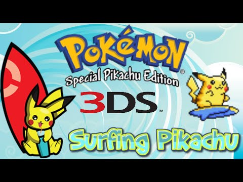 How To Get Surfing Pikachu Game (Pokemon Yellow For 3DS)
