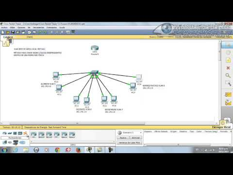 11 - VLAN (Red de Área Local Virtual) en Packet Tracer (CYERD):watfile.com