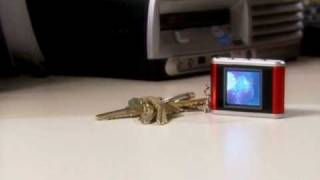 "Digital Photo Viewer Keychain with 1.5"" LCD Screen"