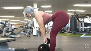 Super hot and sexy ass woman | Big glute workout | Female fitness motivation