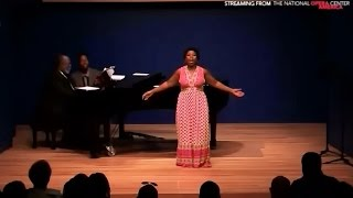 "Andrea Jones-Sojola sings ""Over My Head"" at The National Opera Center"