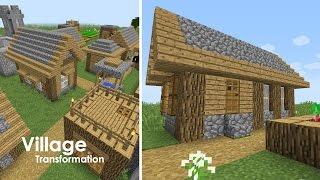 minecraft village upgrade