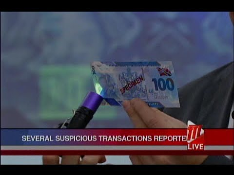 Several Suspicious Transactions Reported By Banks